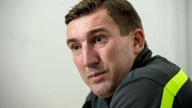 Long road: Alan Stubbs says the title race is far from over