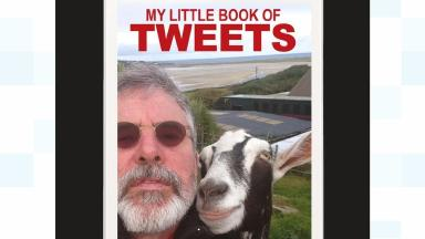 The cover of Gerry Adams' 'My Little Book of Tweets'
