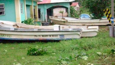 Corn Island is susceptible to high winds, a hurricane in 2009 washed boats onto the shore.