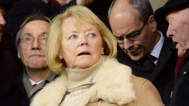 Anger: Ann Budge is determined to root out troublemakers in the Hearts support