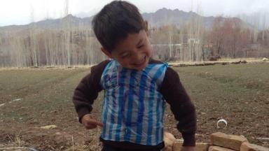 Murtaza Ahmadi is still pretty happy with his shirt.