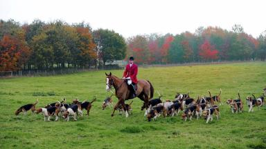 Fox hunt: The family followed and filmed people on Snaigow Estate (file pic).