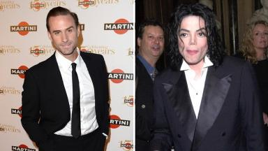 Joseph Fiennes (left) will play Michael Jackson in a comedy.