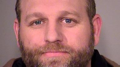 A police photo of Ammon Bundy following his arrest.