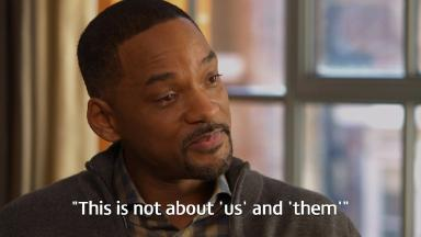 Hollywood actor Will Smith speaks to Good Morning Britain.