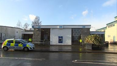 Armed robbery: Police called to TSB bank on Friday.