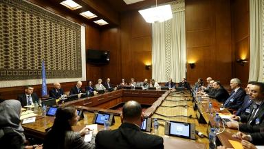 Talks to resolve the conflict in Syria have begun at the UN headquarters in Geneva.