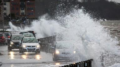 Storm Barbara: Gusts of up to 90mph expected (file pic).