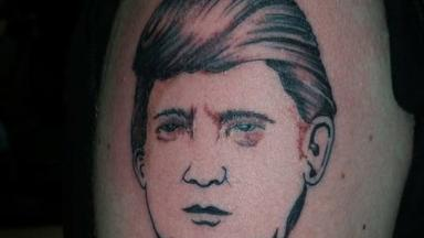 Freebie: Bob Holmes is offering tattoos of Donald Trump for free