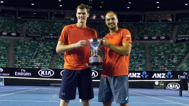 Triumph: More Scottish success in Melbourne.