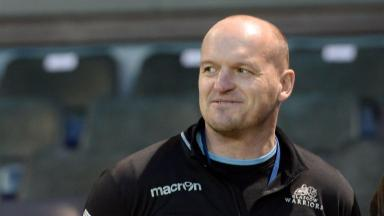 Two points: Gregor Townsend and Glasgow had to suffice with a draw