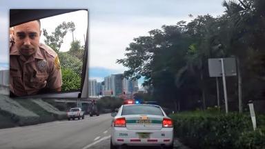 Cop in Miami