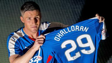 New signing: Rangers secure the services of Michael O'Halloran.