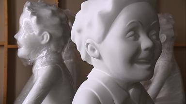 Oor Wullie statues