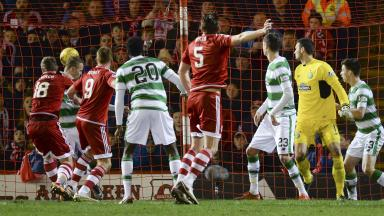 Pittodrie: Six arrests at match between Aberdeen and Celtic.