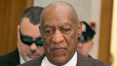 Bill Cosby arriving for the hearing.