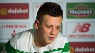 Callum McGregor: Fined two weeks' wages by club (file pic).