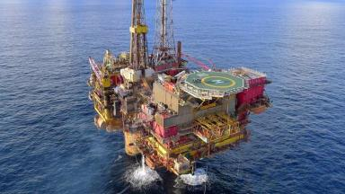 Oil: The legs could be left in place. (file pic)