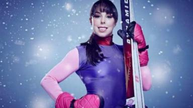 Beth Tweddle was taking part in a TV show.