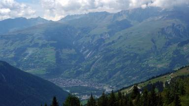 French Alps: Scot lived in town of Bourg-Saint-Maurice.