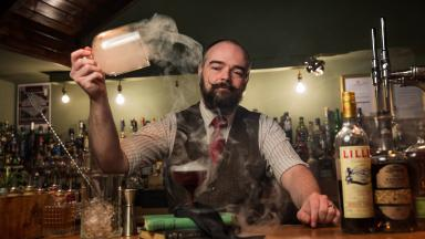 Andy Stewart: Has created the ultimate Scottish cocktail menu