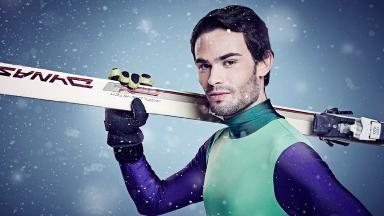 Mark-Francis Vandelli has fractured his ankle taking part in 'The Jump'.