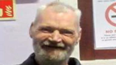 Roy Bruce: Concerns for missing Dundee man.