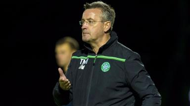 Tommy McIntyre's Celtic side went out of the UEFA Youth League to Valencia.