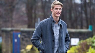 Kristoffer Ajer has his Celtic medical.