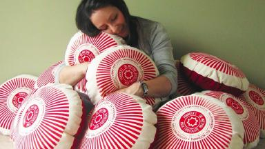 Biscuit Lady: Nikki describes the Tunnock's factory like Willy Wonka's 'but with teacakes'.