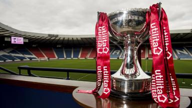 Trophy: The silverware will be up for grabs before Christmas.