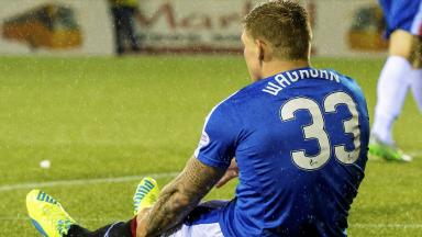 Martyn Waghorn will miss the next six to eight weeks with a knee injury.
