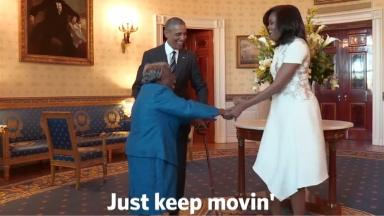 'Just keep movin',' she said, when asked how she continued dancing at the age of 106