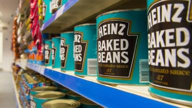 One person could survive quite well on the tinned and non-perishable goods in a supermarket, the doctor said.