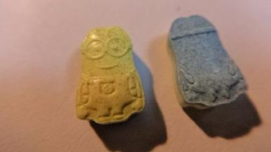 The ecstasy pills were shaped like the 'minions' from Despicable Me