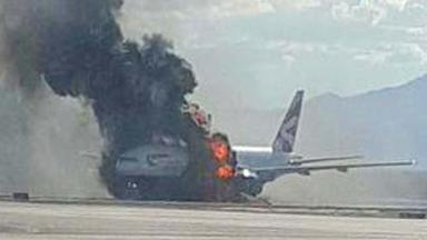 The Boeing 777-200 burst into flames at McCarran International Airport in Las Vegas on September 8 last year.