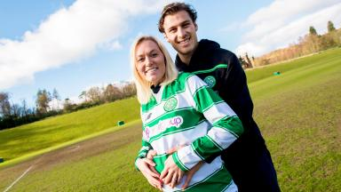 Erik Sviatchenko and his girlfriend Anne Rudmose.
