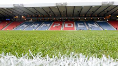 Surface: Hampden pitch will be ready for the League Cup Final.