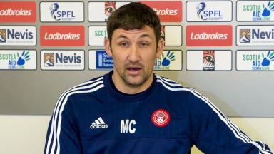 Defence: Martin Canning rejected claims over Hamilton's pitch.