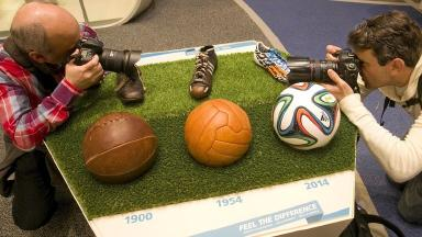 The Fifa museum opened in Zurich on Wednesday.