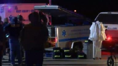 Three people died and 14 were injured before the gunman was killed