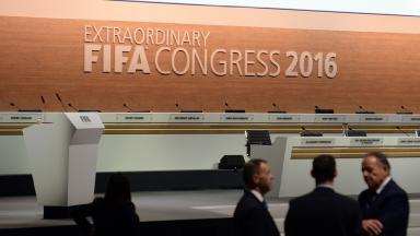 The Fifa Congress is being held in Zurich, Switzerland.