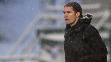 Managerial call: Alan Archibald doesn't know what cash he will have to play with in the summer.