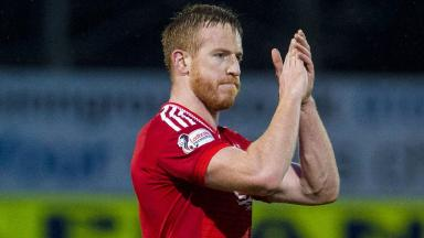 Sidelined: Adam Rooney has picked up an injury.