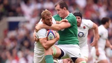England take on Ireland at Twickenham