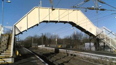 One million: Jordanhill railway station holds an internet accolade.