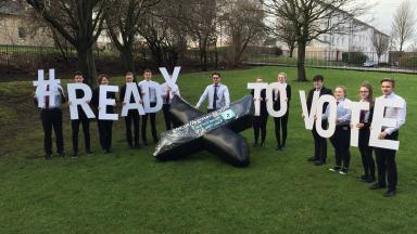 Voting: New campaign launched to encourage youths to vote.