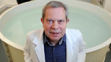 Winner: Professor Richard Morris has been recognised.