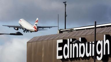 Edinburgh airport 100th anniversary March 2 2016.