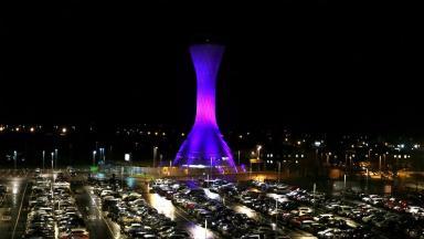 Edinburgh Airport control tower March 2 2016